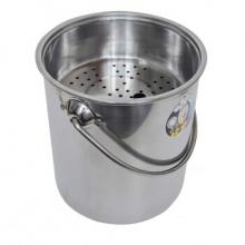 诚和致远(chzy) 不锈钢茶水桶 小号无盖 高22cm 7L