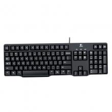 罗技(Logitech) K100 有线键盘 PS2圆孔接口