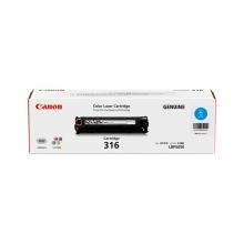 佳能(Canon)CRG-316C 青色硒鼓 适用于LASERSHOT LBP5050 5050n 打印量1500页
