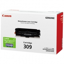 佳能(Canon) CRG-309 黑色硒鼓 适用Canon LBP3500/LBP6200D A4 5%覆盖率打印量12000页