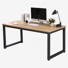 香可 xk-dnz001-107 台式电脑桌 120*60*75cm浅胡桃+黑架