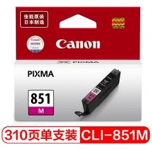 佳能(Canon) PGI-850/CLI-851 彩色墨盒  CLI-851 品红色低容