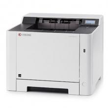 京瓷(KYOCERA) ECOSYS P5021cdw A4彩色激光打印机 官方标配 可打红头文件 白色