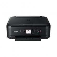 佳能(Canon) TS5180 喷墨多功能一体机 官方标配 黑色 (喷墨打印、复印、扫描、无线)