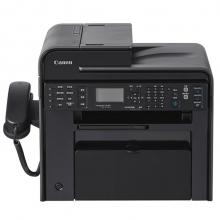 佳能(Canon)MF4752 黑白激光传真一体机 A4(打印/复印/扫描/传真) 黑色