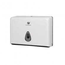 创点 8055A 卫生间挂式塑料擦手纸盒 白色