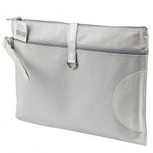 渡美(Dumei) NF-633 A4美式牛津布面文件袋34.5*27.5CM 浅灰色