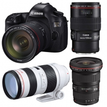 佳能(Canon) 5DS  专业级单反相机(含大三元镜头)