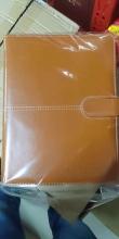 博文(BoWen)16999 9孔活页仿皮笔记本 B5 25.5*17.5cm 棕色