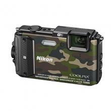 尼康 Nikon COOLPIX W300s 防水、防震(耐冲击)、防寒、防尘 数码相机 (迷彩色)