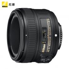 尼康(Nikon) AF-S 50mm f/1.8G 镜头 入门标准定焦牛头