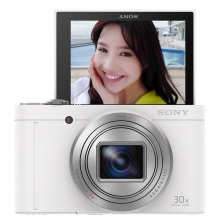 索尼(SONY) DSC-WX500 便携数码相机/照相机/卡片机 白色