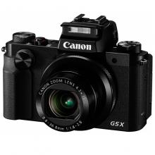 佳能(Canon)PowerShot G5X 数码相机 (2020万有效像素 DIGIC6处理器 24-100mm变焦)