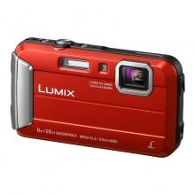 松下(Panasonic)TS30数码相机/运动相机/四防相机 防水、防尘、防震、防冻 TS25升级版 红色