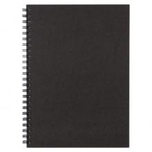 无印良品 MUJI 双环笔记本  A5/80张(暗灰色)