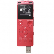 索尼 SONY ICD-UX560F 数码录音棒 商务语言好帮手 4GB容量 (粉)