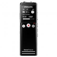飞利浦 PHILIPS VTR6200 8G 会议采访 30米远距离无线录音笔 黑色