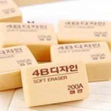 南韩(MUNGYO) 橡皮 4B 200A 30个/盒(200A)