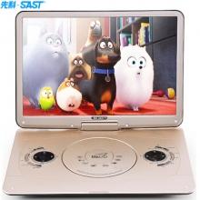 先科(SAST)FL-188便携式 DVD影碟机 17.8英寸(金色)