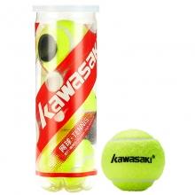 川崎(KAWASAKI) KT-80  比赛训练网球 3只装