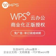 金山WPS+ 商业版 Office办公软件 WPS+商业版 一年使用权