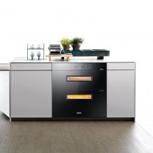 海尔(Haier)ZQD100F-E60S2 二星级 100升 数码显示 光波巴氏消毒 嵌入式消毒柜/碗柜