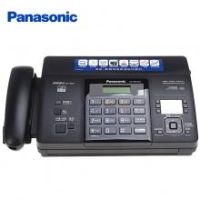 松下(Panasonic)KX-FT876CN 传真机 热敏纸复印传真机办公家用电话一体机中文显示(黑色)