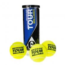 登路普DUNLOP网球 TOUR BRILLIANCE 3粒塑罐比赛训练网球 602196