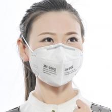 3m 9502 防尘防雾霾口罩 头戴式 2只/包