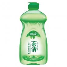 蓝月亮 茶清洗洁精 洗涤灵(绿茶清香)500g/瓶