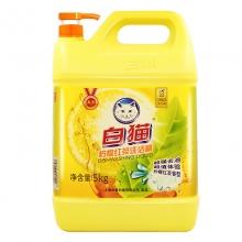 白猫柠檬红茶洗洁精5kg