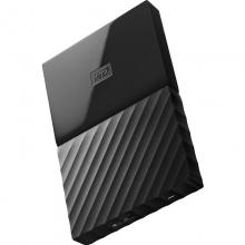 西部数据(WD)My Passport 4TB 2.5英寸 经典黑 移动硬盘 WDBYFT0040BBK-CESN