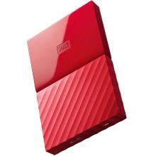 西部数据(WD) My Passport 4TB USB3.0 移动硬盘2.5英寸 中国红(WDBYFT0040BRD)