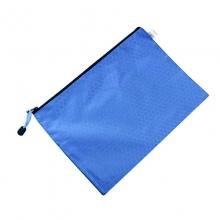 易利文 A4 905 球纹拉链袋 蓝色