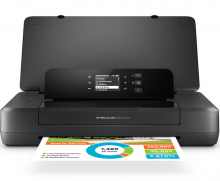 惠普(HP)  OfficeJet 200 Mobile Printer 便携式彩色喷墨打印机 1年送修