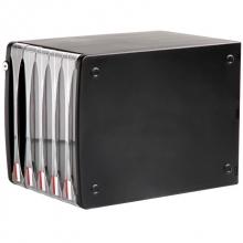 得力(deli) 9795 五层塑料文件柜(带锁)黑色