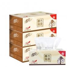 清风(APP) B338C1 2层盒装抽纸 200抽/盒 3盒/提