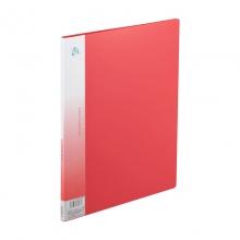 齐心(COMIX) NF10AK A4资料册 10袋 (红色)