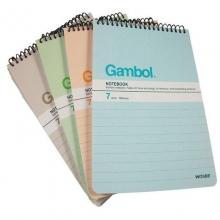 渡边 (Gambo1) SA6506X A6 50坚翻螺旋笔记本 12本/包