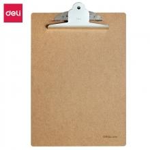 得力(deli)9227  木质书写板夹 A4 蝴蝶夹
