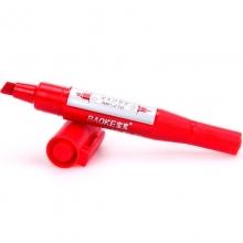 宝克(BAOKE) MP210 双头记号笔 12支/盒(红色)
