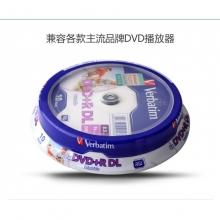 威宝 DVD+R DL D9 8.5g 空白光盘 10片/桶
