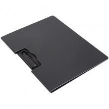 得力(deli)5011 横式彩色折页板夹 325*242mm (黑色)