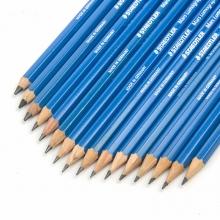 施德楼(Staedtler) 100-4B 蓝杆绘画素描铅笔 (单支装)