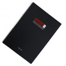 国誉(KOKUYO) WCN-DS4000 双螺旋PP面笔记本A4 80页