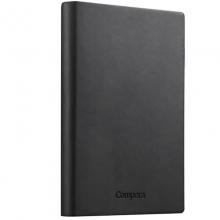 齐心(COMIX)C8022 A5 软皮笔记本 154页(灰色)