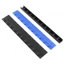 国产 21孔装订夹条 100根/盒 黑色(12.5mm)