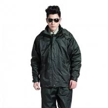 Hoscene 07式 武警特警消防分体式雨衣套装