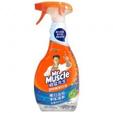 威猛先生(Mr Muscle) 厨房油污清洁剂 500g/瓶(淡雅花香)