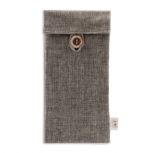 kinbor DT5550 棉麻款文具袋(留白)190*90mm